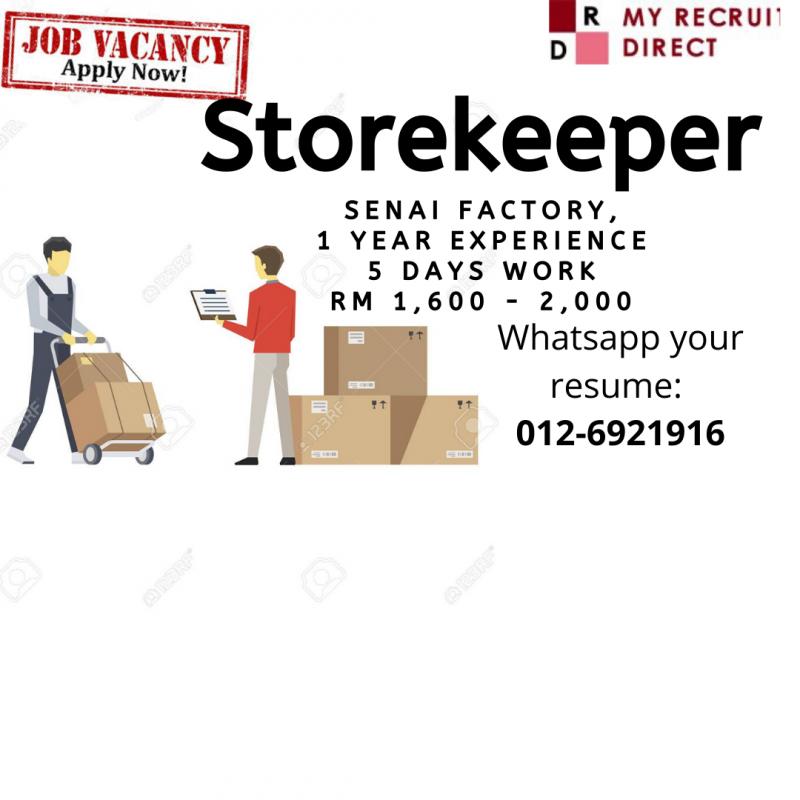 Storekeeper (cc:SBS)